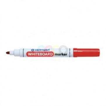 Popisovač na biele tabule Centropen 8559, guľatý hrot, červený
