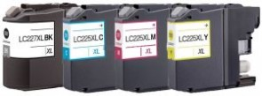 Brother LC-225XL / LC-227XL - 4 Pack