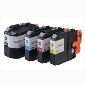 Brother LC-225XL / LC-229XL - 4 Pack