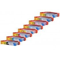 Canon CLI-42 / 6384B010 (BK,GY,LGY,C,M,Y,PC,PM) - 8 Pack