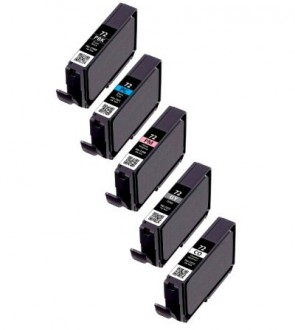Canon PGI-72 / 6403B007 - 5 Pack (PBK,PC,PM,GY,CO)
