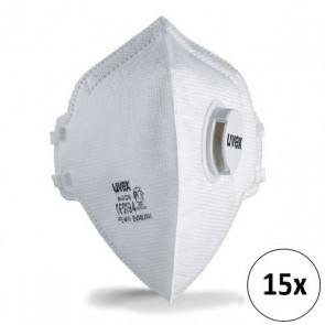 Uvex silv-Air 3310 FFP3 - 15ks
