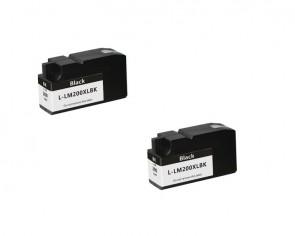 LEXMARK 100XL twinpack black