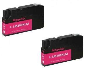 LEXMARK 100XL twinpack magenta
