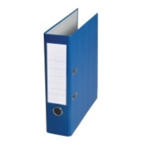 Pákový zakladač poloplastový, šírka chrbta 8 cm, modrý