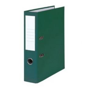 Pákový zakladač poloplastový, šírka chrbta 8 cm, zelený