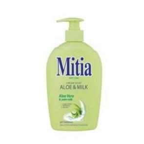 Tekuté mydlo Mitia Aloe and milk s dávkovačom 500 ml