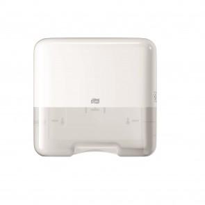 Tork Singlefold/C-fold Mini Hand Towel Dispenser, White