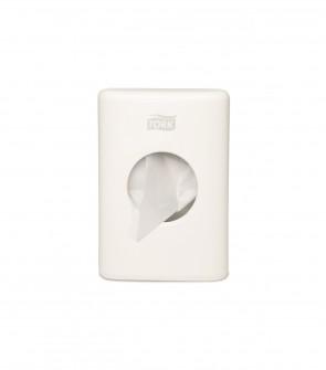 Tork zásobník na hygienické vrecúška, biely