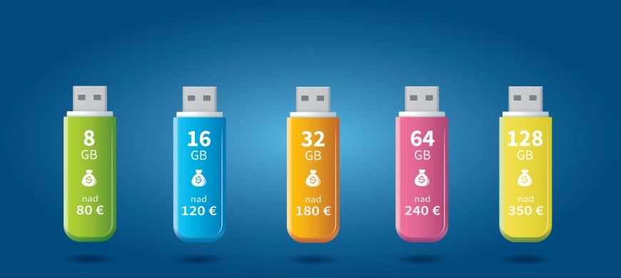 USB kľúč zadarmo!